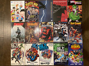 TPB-Graphic-Novel-Lot-Outsiders-Vol-1-2-3-Nightwing-New-52-Batman-Teen-Titans-DC