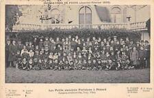 CPA 35 LES PETITS SINISTRES PARISIENS A DINARD ENFANTS D'ALFORTVILLE IVRY VITRY