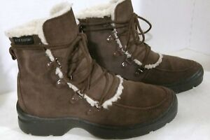 RARE-2006-Women-039-s-Deer-Stags-Drizzle-Boots-A09688-Leather-Upper-US-6M