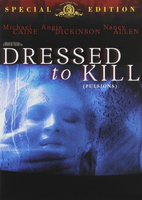 NEW DVD - DRESSED TO KILL - BRIAN DePALMA - Michael Caine, Angie Dickinson,