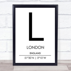 London-England-Coordinates-World-City-Travel-Quote-Wall-Art-Print