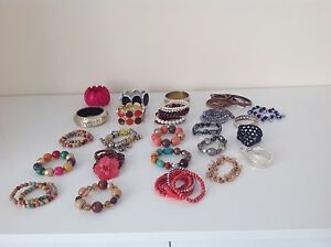 LADIES-MIXED-LOTS-BRACELETS-COSTUME-JEWELLERY-TOPSHOP-D-PERKINS-BINNS-PRIMARK