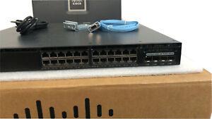 CISCO-Catalyst-3650-24-Port-PoE-Switch-4x1G-Uplink-IP-640W-AC-PS-WS-C3650-24PS-S