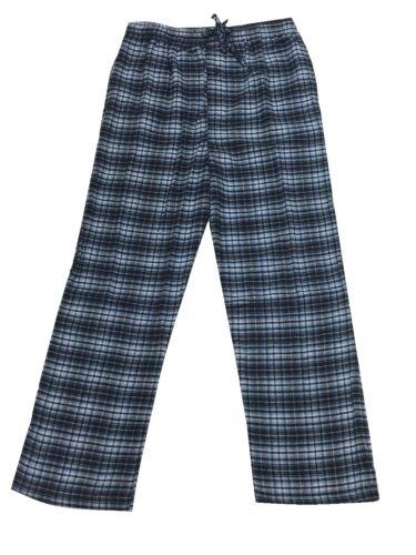 New Men/'s Flannel Lounge Sleep Pants Plaid Pajama Bottom Size S-2X Great Gift