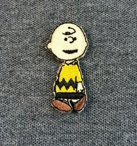 Charlie Brown Friend/'s Snoopy Cartoon Iron On Patch Applique Embroidered Size S