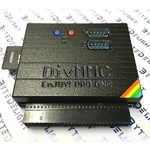 Divmmc Enjoy! Pro One Interface Zx Spectrum Sd Interface Con Sd-card-