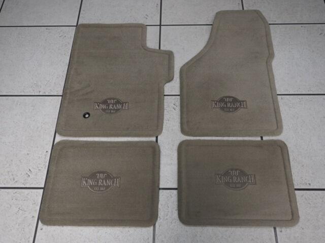 Premium Carpet Floor Mats King Ranch   Ford F