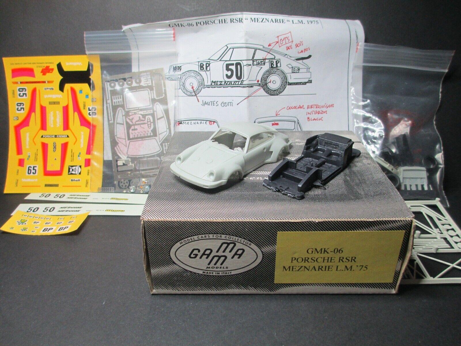 1 43 Kit,Bausatz Porsche 911 RSR LM 1975 Gamma. no BBR,MR