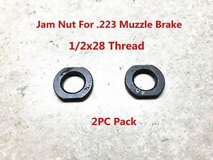 Designed for Repeated Use Armorer/'s Wrench 2PC Muzzle Brake Lock//Jam Nut 1//2x28