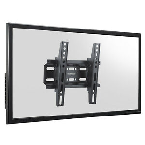 SLIM-TITLTING-TV-WALL-BRACKET-MOUNT-14-23-28-32-37-42-INCH-LED-LCD-TELEVISION