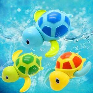 Bad-Pool-Spielzeug-Schildkroete-Educational-Uhrwerk-Spielzeug-Badewanne-fuer-J0P5