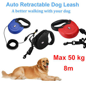 8m-50kg-Chien-Automatique-Auto-Retractable-Fermant-a-cle-Laisse-Strong-Corde