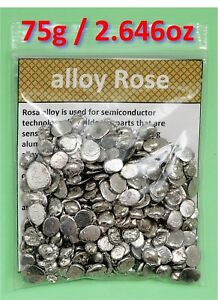 Rose/'s metal alloy Rose Lead, Bismuth, Tin alloy Rose metal
