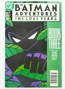 DC-The-BATMAN-ADVENTURES-THE-LOST-YEARS-3-Key-NEWSSTAND-VARIANT-VF-Ships-FREE