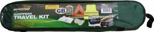 Emergencies /& Breakdowns European Travel Kit For Accidents Brookstone