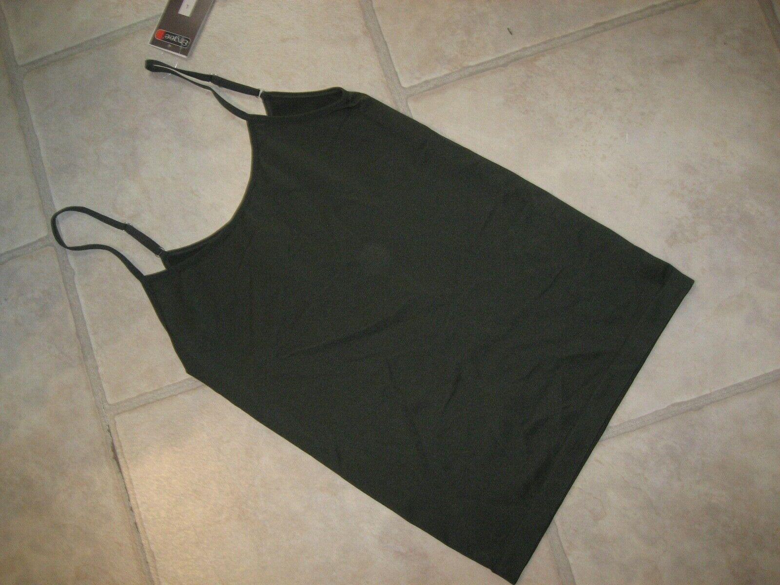 1 Stück Ergee Seamless Damen Unterhemd Khaki Größe L
