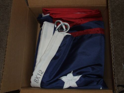 environ 5.49 m Nouveau 12 X 18 Ft American US Flag Sewn étoiles rayures extérieur nylon USA made in Neuf avec étiquettes