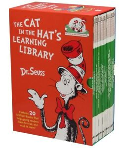 NEW Dr Seuss Cat In The Hat Learning Library 20 Book Box Set *FREE AU SHIPPING*