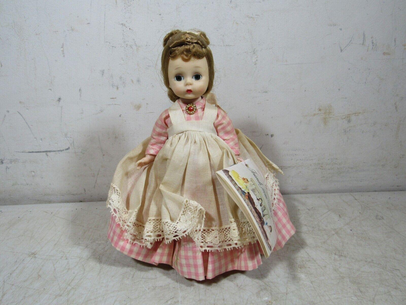 Jahr 1965 Madame Alexander-Kins 8  Meg freunde From Storyland Doll
