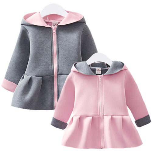 Baby Kinder Jungen Mädchen Kaninchen Hasen Kostüm Overall Strampler Mantel Jacke