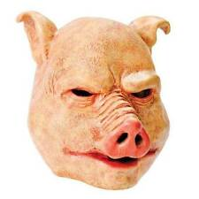 PIG HORROR MASK (SAW), HALLOWEEN FANCY DRESS RUBBER HORROR  MASK