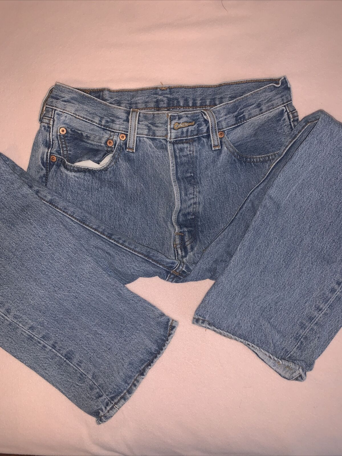 levis 501 made in usa 32x30 - image 3