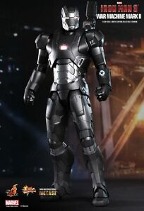 Details About Iron Man 3 War Machine Mark Ii Mk2 Mms198 16th Collectible Hot Toys Sealed