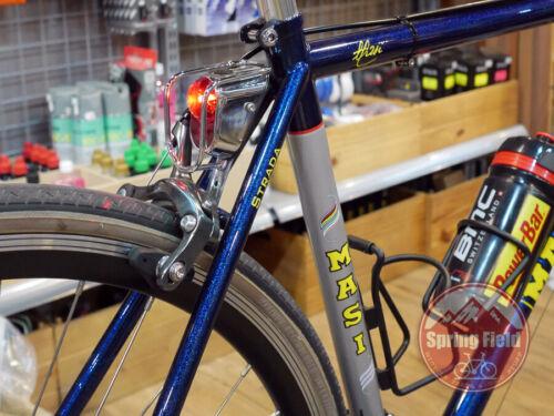 Mud Guard Mounted Bike Tail Light Retro Rear LED Light Bicycle Mudguard Light