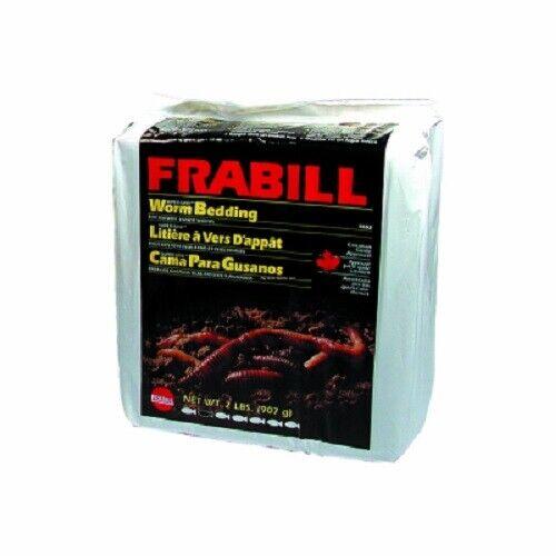 2 LB Worm Bedding Big Rock Frabill 1102 Super-Gro