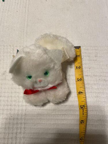 Hallmark Christmas 1984 Snowball Finger Puppet