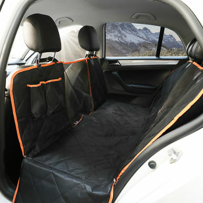 2in1 BLACK CAR BOOT LINER COVER REAR SEAT DOG PROTECTOR For VW PASSAT ESTATE
