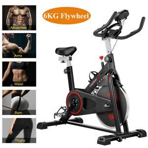 Exercise Bike X Bike Cardio Cycling Trainer Fitness Workout Machine 6kg Flywheel