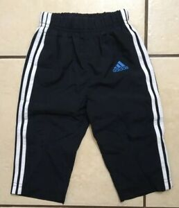 BABY-BOYS-ADIDAS-NAVY-TRACKSUIT-TROUSERS-AGE-6-9-MONTHS-EXCELLENT-CONDITION