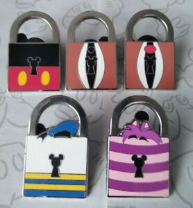 PWP-Lock-Collection-Series-Mickey-Mouse-Icon-Set-Choose-a-Disney-Pin