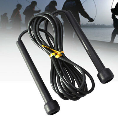 Wire Skipping Jump Rope Boxing Fitness Sport Gym Exercise Equipment nice