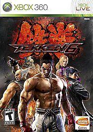 Tekken 6 Microsoft Xbox 360 2009 For Sale Online Ebay