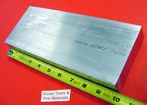 "1-1/2"" X 4"" ALUMINUM 6061 T6511 SOLID FLAT BAR 10"" long 1.50"" Plate Mill Stock"
