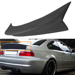 Details About For Bmw E46 M3 Coupe 1999 2005 Csl Style Rear Trunk Spoiler Ducktail Wing Lip