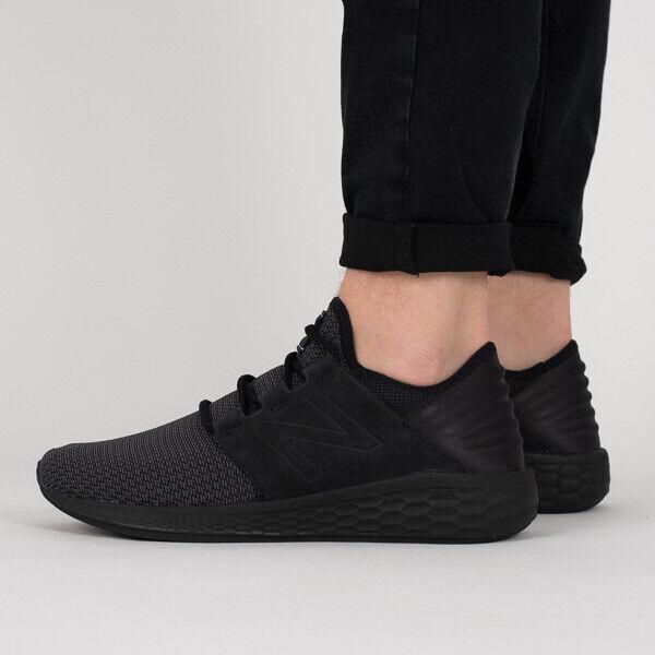 New Balance Hypebeast Hombre Fresco Foam Cruz v2 Punto Negro Zapatillas para