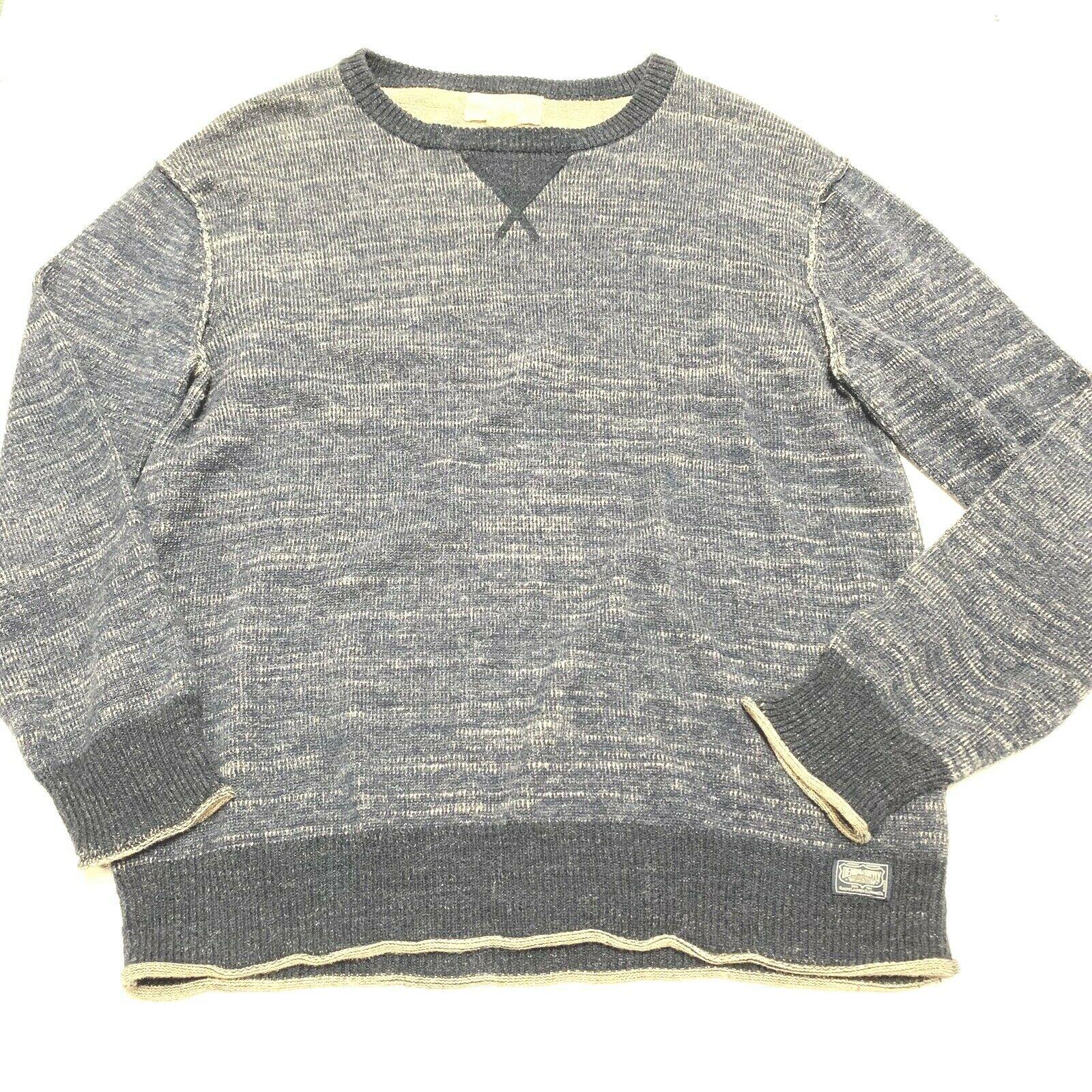 Denim & Supply Ralph Lauren Mens Sweater bluee Size Large L Cotton