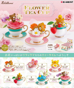 Rilakkuma pajama party All 6 set Japan import NEW Re-Ment