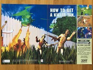 Army-Men-Air-Attack-2-PS1-Playstation-1-2000-Vintage-Poster-Ad-Art-Print-Rare