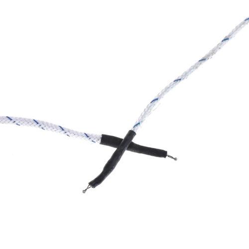 1PC K type temperature sensor thermocouple probe cable wire 0.5//4m XIM EW