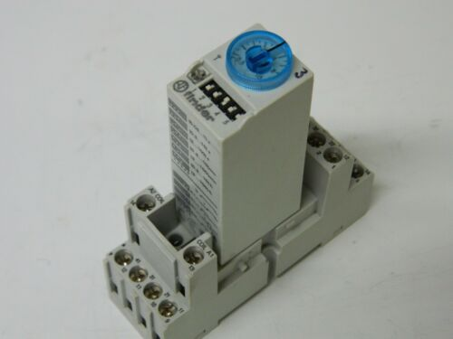 Finder 85.04.8.240 Multi Function Timer 0.05s-100Hr 240VAC Relay 250vac 7A