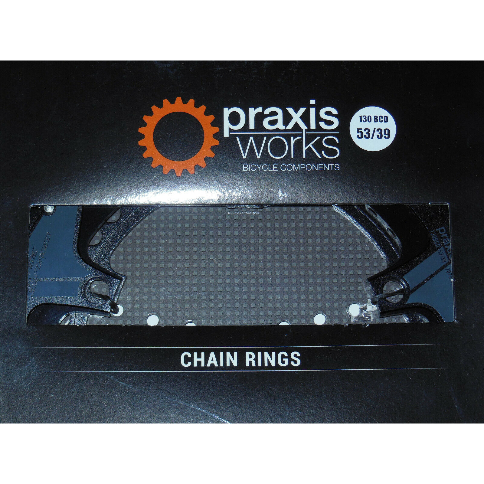 Nuevo Praxis Buzz levatime frío Forjado 53 39 estándar Plato Set Negro 130 dispositivo de control de flotabilidad