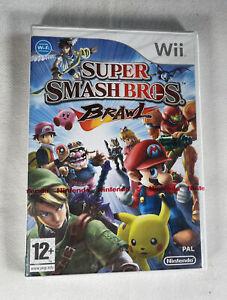 Super Smash Bros Brawl-Nintendo WII-Reino Unido PAL-Nuevo Y Sellado De Fábrica