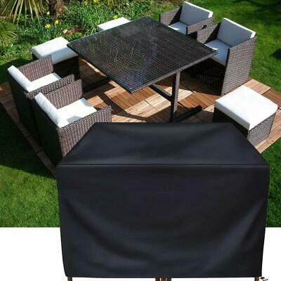 Outdoor Furniture Cover Weather Garden Patio Yard Rattan Table Set SunProtection