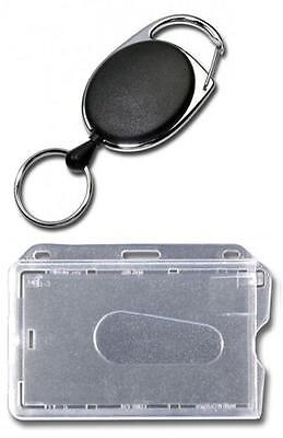 JOJO mit DRAHTSEIL STAHLSEIL Metallumrandung /& Schlüsselring Kartenhalter CD1