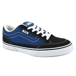 ee99cf882e4ed2 Vans BEARCAT Mens Shoes (NEW) Size 7-13 NAVY BLUE WHITE Skate ...