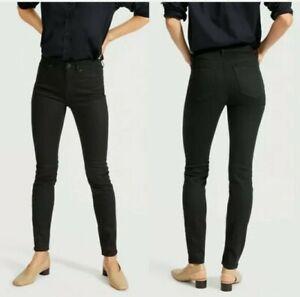 Everlane-Black-Mid-Rise-Skinny-Denim-Jean-Size-26-Ankle-Womens